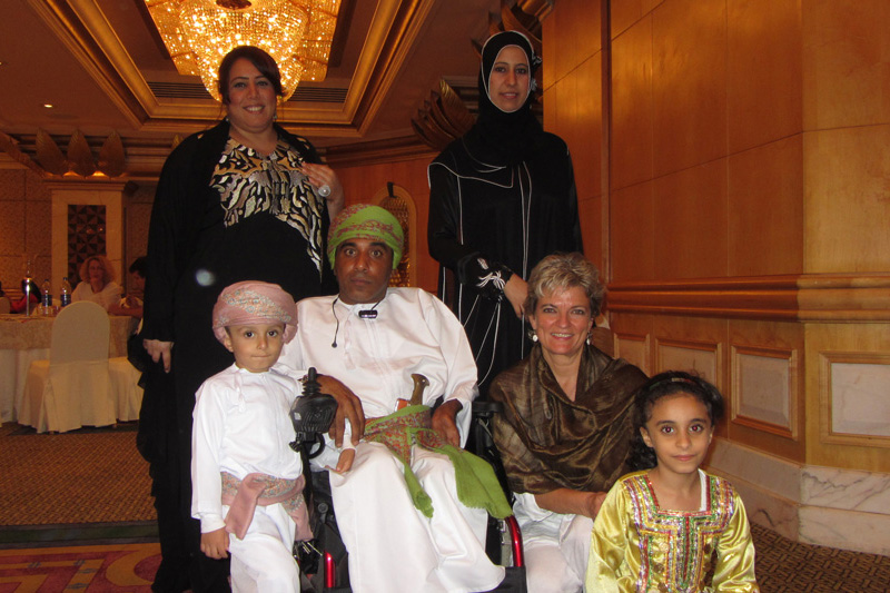 Oman Disabled Divers